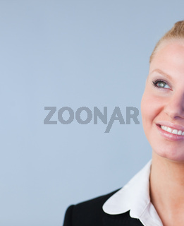 Attractive Businesswoman smiling