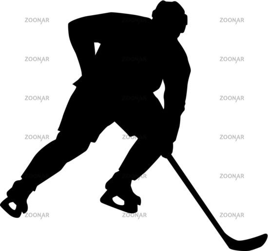 Hockey players go sprinting