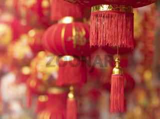Lunar new year fair market