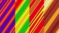 Random striped tracery