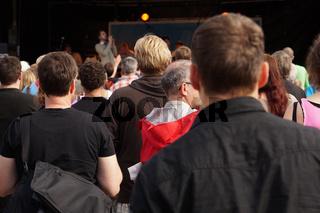 Zuschauermenge