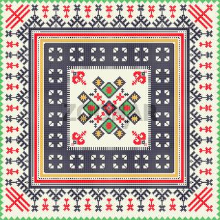 Georgian embroidery pattern 2