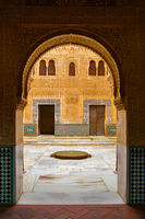 Gateway in the Alhambra