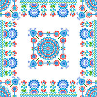 Hungarian embroidery pattern 123