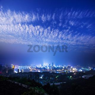 night scene of Chongqing