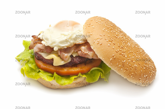 baked hamburger