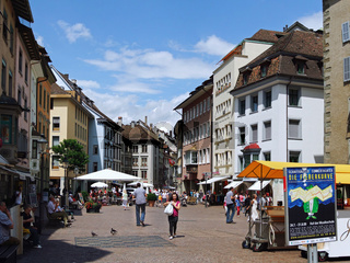 Stadtbild von Schaffhausen