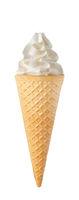 ice cream with cone