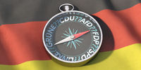 Election compass - Bundestag elections in Germany