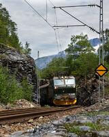 flamsbana in Norway