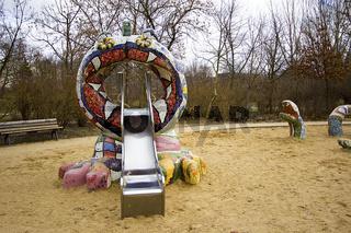 Berlin Prenzlauer Berg - Spielplatz