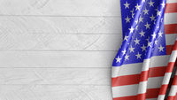 Mockup USA flag