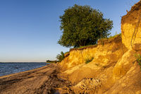 The Baltic Sea coast in Zierow, Mecklenburg-Western Pomerania, Germany