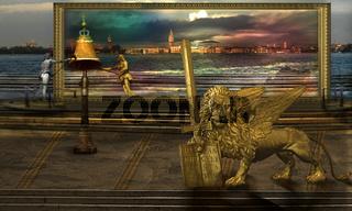 The golden Leo in alternative earth