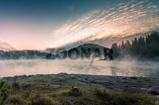 Shiroka polyana reservoir, Bulgaria, Rhodope