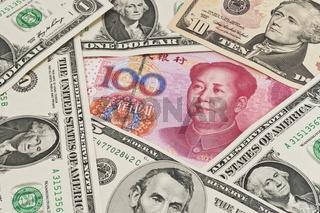 US Dollar und Renminbi | U.S. Dollar und Renminbi