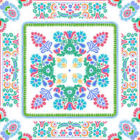 Hungarian embroidery pattern 128