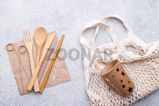 Zero waste bamboo tableware