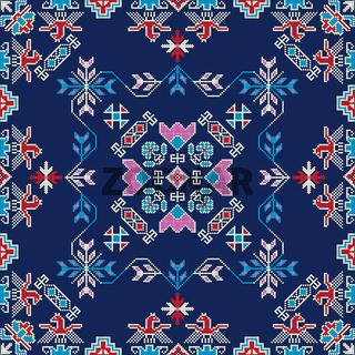 Georgian embroidery pattern 19