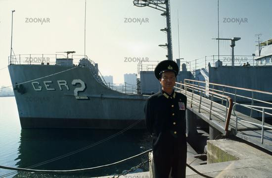 Captured SS Pueblo in Pyongyang