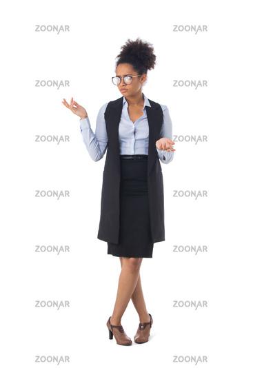 Clueless African businesswoman