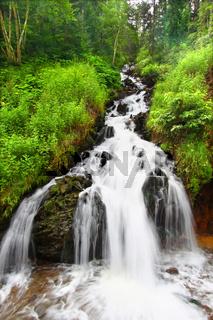 Waterfall near Deadwood South Dakota