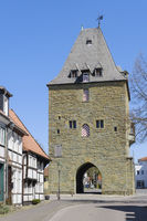 Old tower Osthofentor, Soest, North Rhine-Westphalia, Germany, Europe