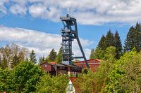 Industriedenkmal Bergwerk Bad Grund Förderturm