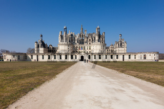 Chambord castle, Loire et cher, France