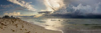 Storm Approaches Miami Beach