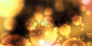 Bokeh Hintergrund - Gold Geld Schwarz