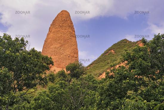 Las Medulas Historic Roman Gold-Mine, UNESCO World Heritage Site, Spain