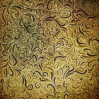 Ornamental grunge pattern