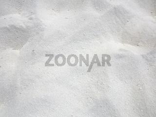 Fine grain white beach sand texture background