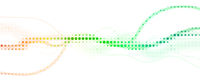 abstrakt linien raster wellen weiß bewegung banner