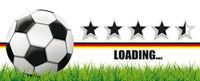 Football Side Grass Germany Flag Header