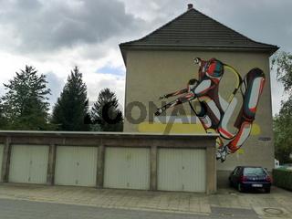 city leaks festival cologne köln painting street art graffity AMOSE / FR