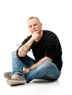 portrait  young man