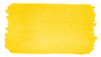 hand-painted bright yellow acrylic paint background with brushstroke texture