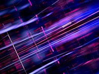 Abstract shiny background with chaotic straight lines - 3d illustration