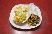 Delicious Grilled Veggie Gyro