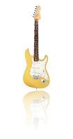 electric guitar, butterscotch