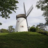 Windmill Keeken, Kleve, Lower Rhine, North Rhine-Westphalia, Germany, Europe