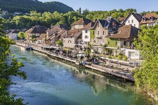 Eines der schönsten Dörfer Frankreichs: Chanaz, Savoie
