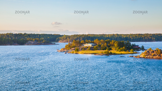 Archipelago of Stockholm in the Baltic Sea,