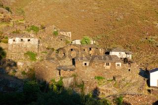 Drave village in Arouca Serra da Freita mountain, Portugal