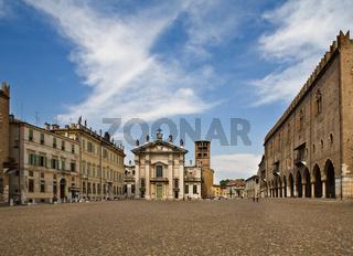 Central area in Mantova