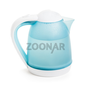 Hot water in electric kettle