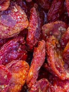 Verkauf von getrockneten Tomaten