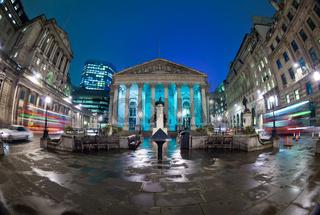 The Royal Stock Exchange, London, England, UK